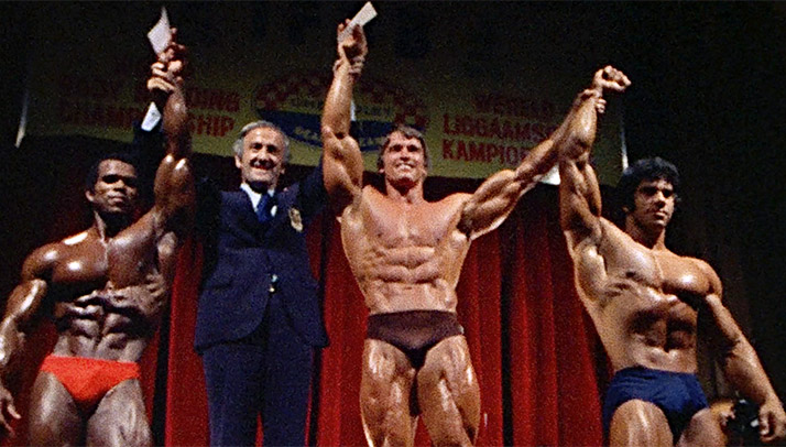 Arnold schwarzenegger a blueprint for coach overview of large arnold and his fellow golden age legends applied similar methods to all the muscle groups malvernweather Choice Image