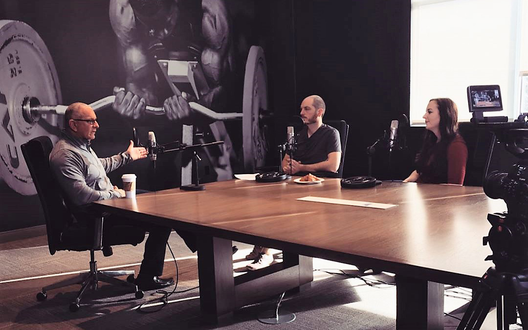 Chef Robert Irvine speaks with Nick Collias and Dr. Krissy Kendall on The Bodybuilding.com Podcast