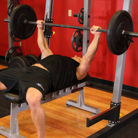 Barbell Bench Press - Medium Grip